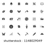 vector art icons set  education ... | Shutterstock .eps vector #1148029049