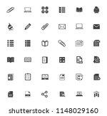 school icons  vector education  ... | Shutterstock .eps vector #1148029160