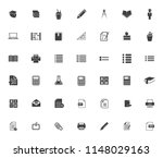 school icons  vector education  ... | Shutterstock .eps vector #1148029163