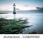 Perch Rock Lighthouse Evening Flood