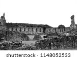 A View Of The Ruins Of The...