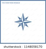 pictograph of compass   Shutterstock .eps vector #1148058170