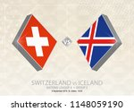 switzerland vs iceland  league... | Shutterstock .eps vector #1148059190