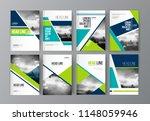 modern business brochure ...   Shutterstock .eps vector #1148059946
