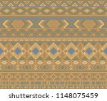 navajo american indian pattern... | Shutterstock .eps vector #1148075459