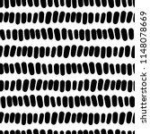 black and white seamless vector ... | Shutterstock .eps vector #1148078669