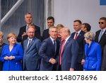 11.07.2018. brussels  belgium.... | Shutterstock . vector #1148078696