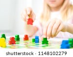 board game and kids leisure... | Shutterstock . vector #1148102279