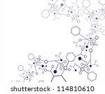 molecular structures | Shutterstock .eps vector #114810610