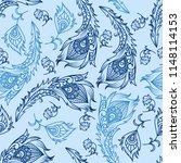 vector ethnic wallpaper....   Shutterstock .eps vector #1148114153