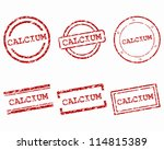 calcium stamps | Shutterstock .eps vector #114815389