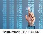 businessman plan graph growth...   Shutterstock . vector #1148161439