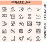 finance  bank  virtual... | Shutterstock .eps vector #1148164289