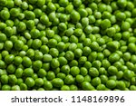 Fresh Organic Pea Background