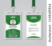 creative green corporate id... | Shutterstock .eps vector #1148189816