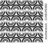 seamless ethnic pattern design. ... | Shutterstock .eps vector #1148190383