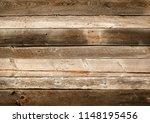 dark brown and white reclaimed... | Shutterstock . vector #1148195456