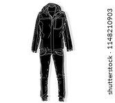 sport suit. vector isolated...   Shutterstock .eps vector #1148210903