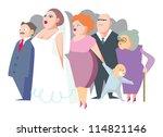 wedding | Shutterstock .eps vector #114821146