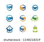 geek nerd programmer gamer... | Shutterstock .eps vector #1148218319
