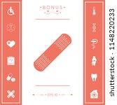 medical  plaster  adhesive... | Shutterstock .eps vector #1148220233