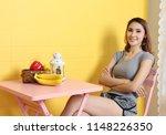beautiful asian woman relax in... | Shutterstock . vector #1148226350