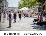 crowd of anonymous people...   Shutterstock . vector #1148230370