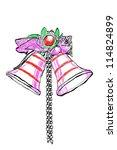 christmas bells | Shutterstock . vector #114824899