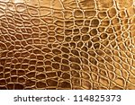 Tint Golden Crocodile Skin...