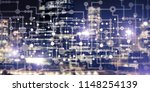 conceptual background image... | Shutterstock . vector #1148254139