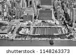 aerial view of penn station and ... | Shutterstock . vector #1148263373