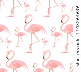 vector flat background with... | Shutterstock .eps vector #1148264639