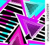 abstract geometric triangles... | Shutterstock .eps vector #1148265989