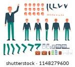 ginger haired businessman...   Shutterstock .eps vector #1148279600