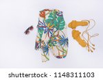 set of summer print design for... | Shutterstock . vector #1148311103