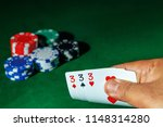casino games concept poker... | Shutterstock . vector #1148314280