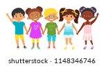 vector cartoon style... | Shutterstock .eps vector #1148346746