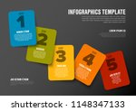 one two three four five  ... | Shutterstock .eps vector #1148347133