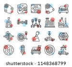 set of 20 icons such as car...   Shutterstock .eps vector #1148368799