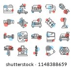 set of 20 icons such as fan ...   Shutterstock .eps vector #1148388659