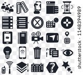 set of 25 icons such as star ...