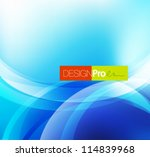 shiny circles abstract... | Shutterstock .eps vector #114839968