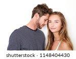 young couple ins studio ... | Shutterstock . vector #1148404430