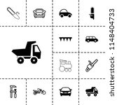 motor icon. collection of 13... | Shutterstock .eps vector #1148404733