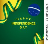 happy brazil independent day... | Shutterstock .eps vector #1148413076