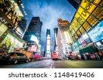 new york city  ny   november 25 ... | Shutterstock . vector #1148419406