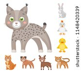 toy animals cartoon icons in...   Shutterstock .eps vector #1148420339