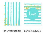 bridal shower card with dots... | Shutterstock .eps vector #1148433233