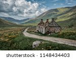 tigh na sleubhaich on the west... | Shutterstock . vector #1148434403