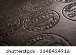 3d illustration leather quality | Shutterstock . vector #1148434916